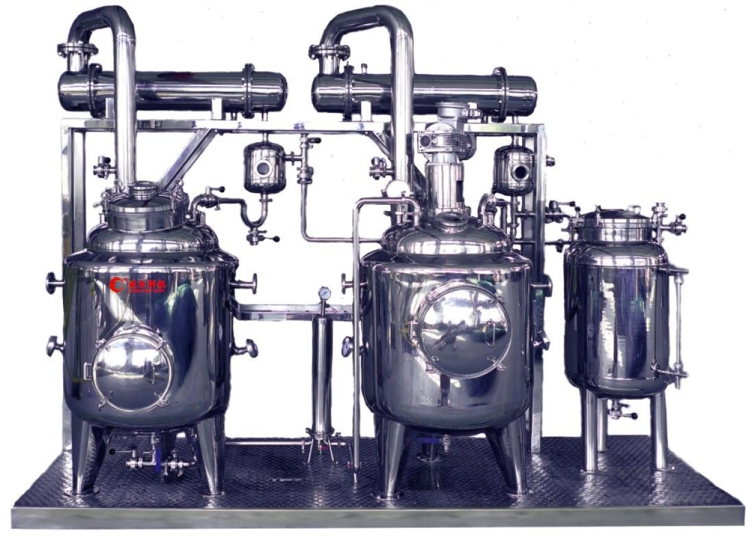 Small Industrial Extraction Equipment Concentrating Recovery Device